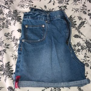 Union Bay High Waisted Mom Shorts